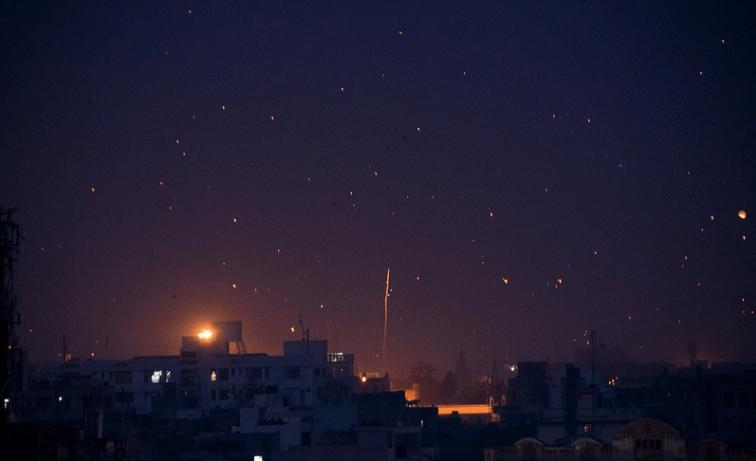 Kite Festival Jaipur Night