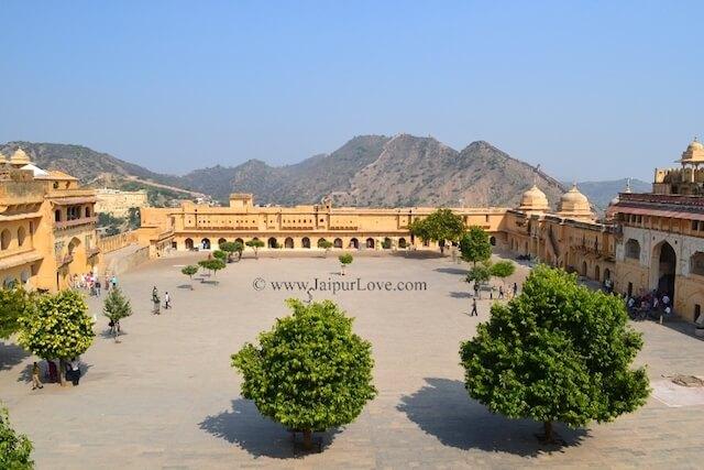 Jaleb Chowk Amer Fort