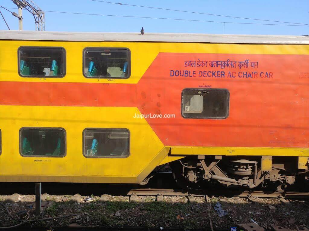 12985-86 Double Decker Delhi to Jaipur1
