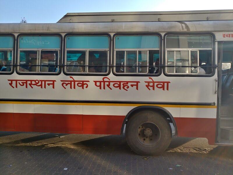 Delhi Jaipur Bus List