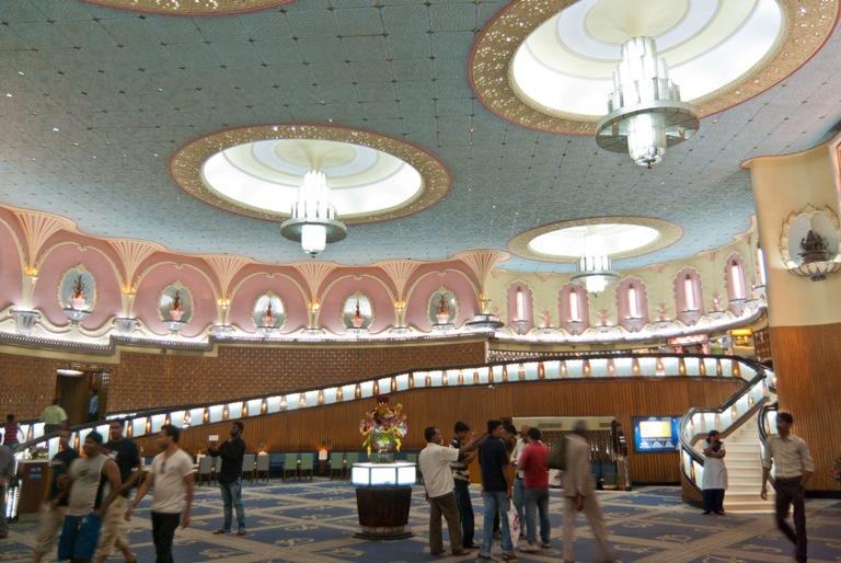 Interiors of Rajmandir Cinema
