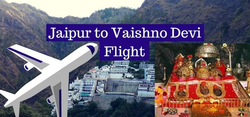 Jaipur to Vaishno Devi Flight