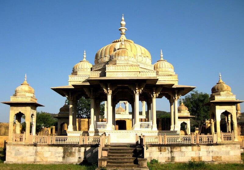 Chhatris of Gaitor jaipur