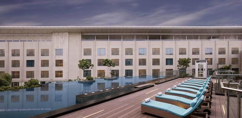 Crowne Plaza Jaipur 5 star hotel