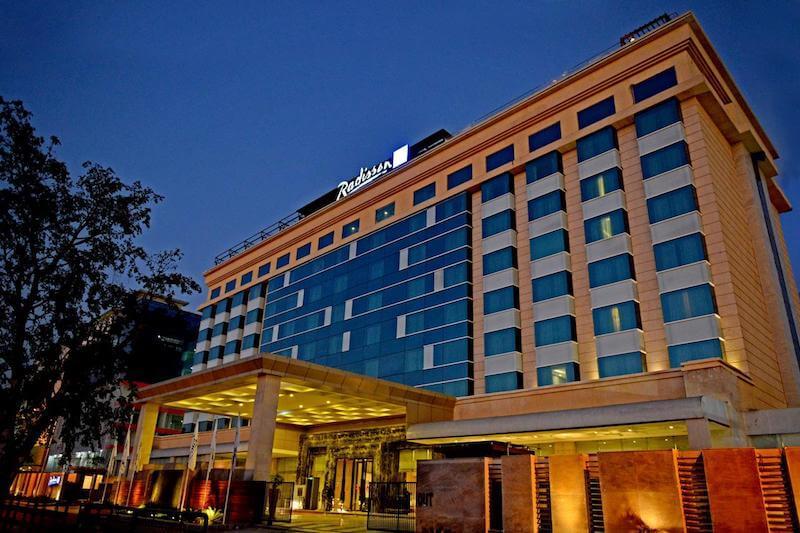 Radisson Blu - upscale 5 star hotel in jaipur
