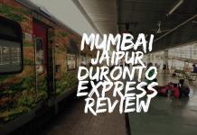12239 Mumbai Jaipur Duronto Express Review