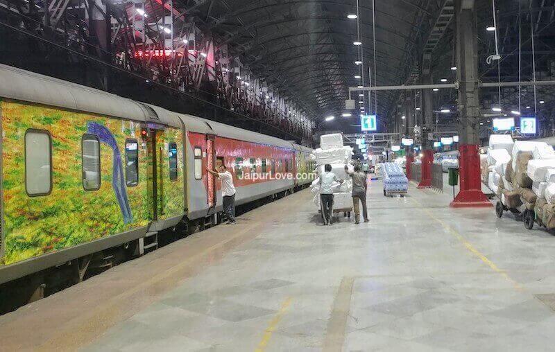 12239 Mumbai Jaipur Duronto Route
