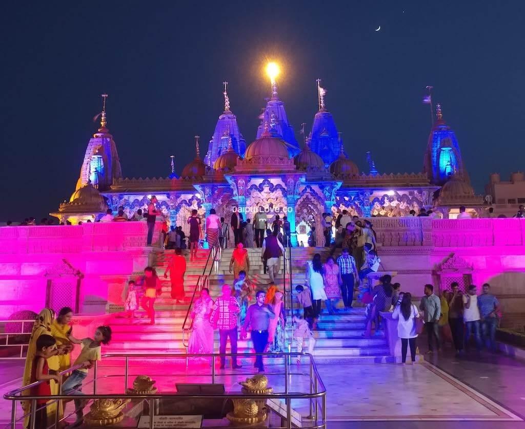 akshardham vaishali nagar jaipur temple