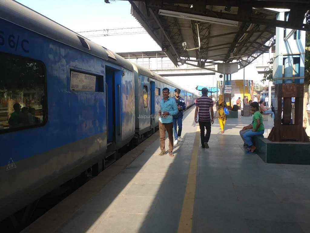 jaipur junction platforms