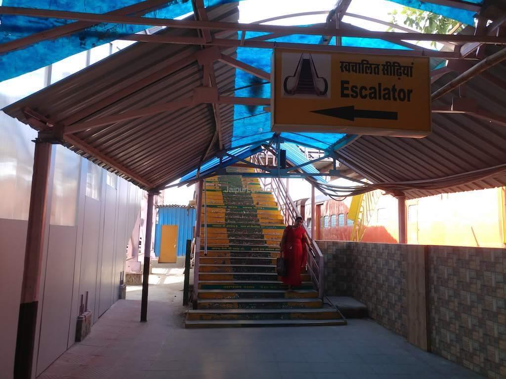 jaipur railway station facilities
