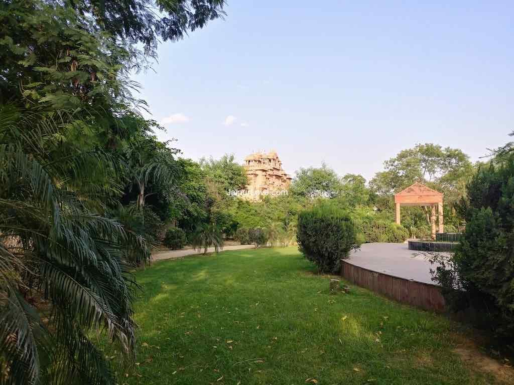Jawahar Circle Garden Jaipur