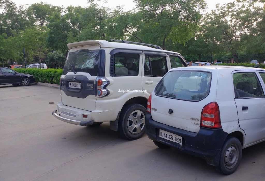 Jawahar Circle Garden parking