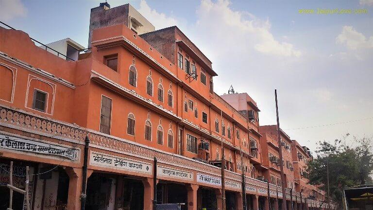 Kishanpole Bazar Pink City