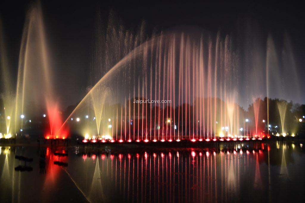jawahar circle fountain jaipur